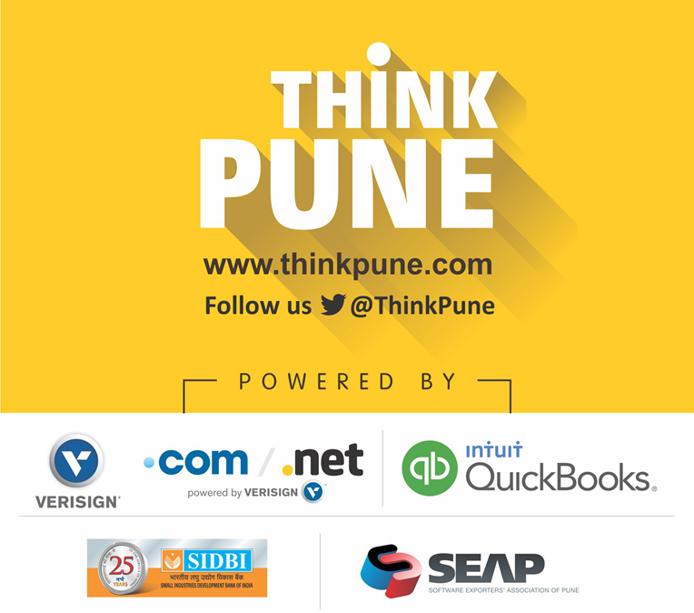 ThinkPune logo and sponsor